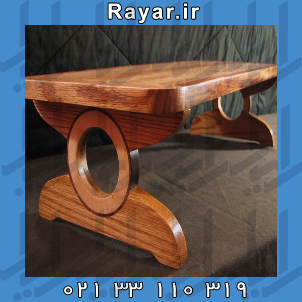 زیر مانیتوری و پایه چوبی مناسب انواع مانیتور
