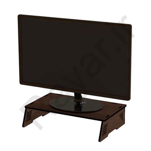فروش آنلاین زیر مانیتوری ثابت چوب ام دی افی